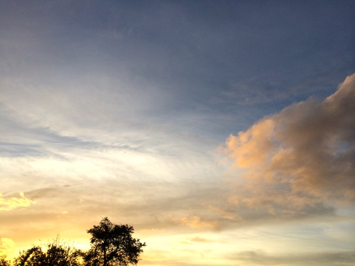 Hickory Hammock Sunset